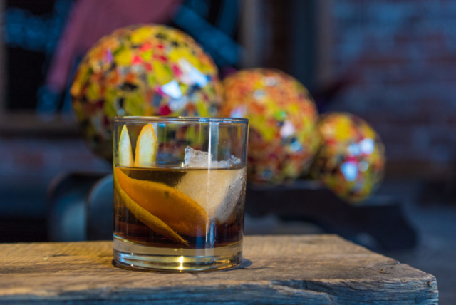 Mexican Old Fashioned at El Chingon