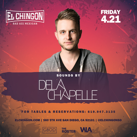 Chingon Fridays featuring Dela Chapelle