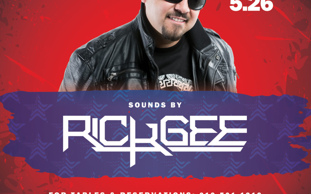 Chingon Fridays featuring Rick Gee