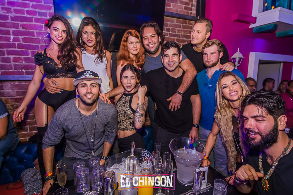 Bottle Service at El Chingon