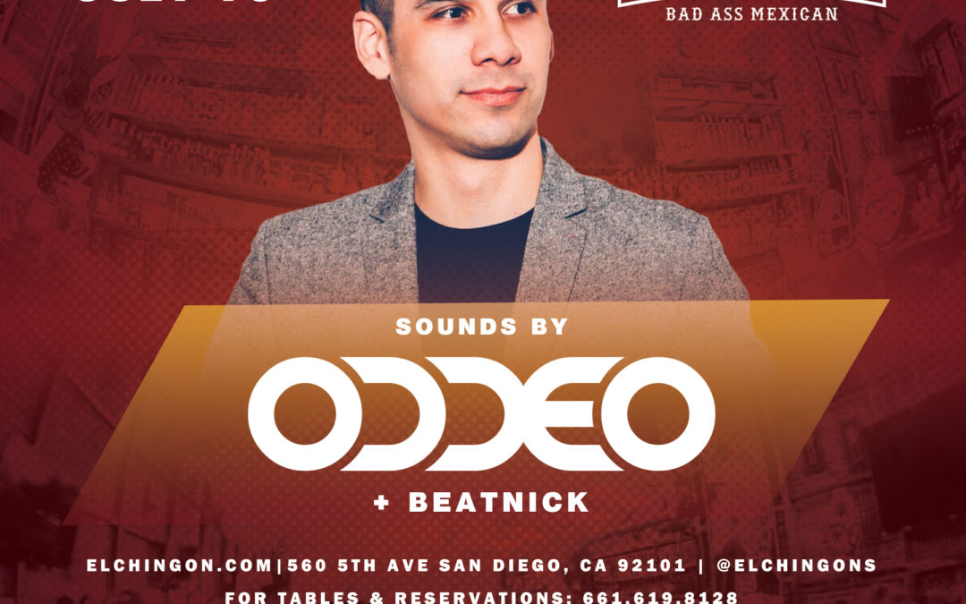 Chingon Saturday's with ODDEO
