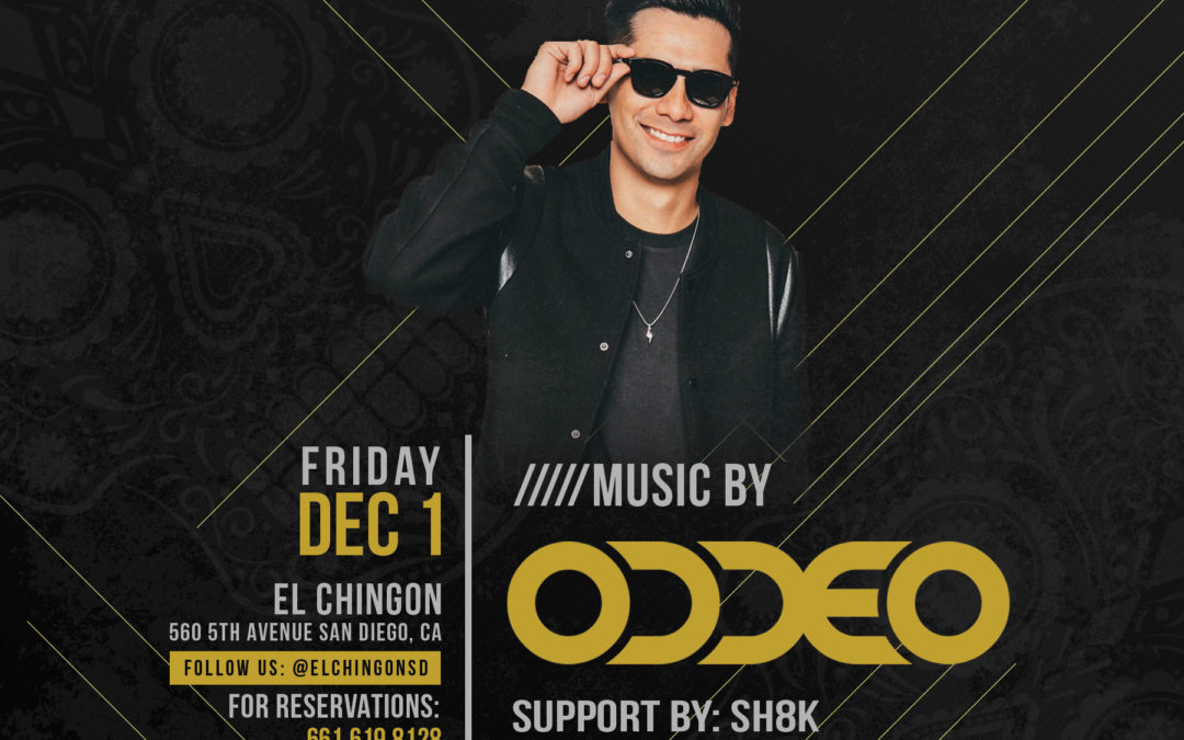 Chingon Fridays with ODDEO